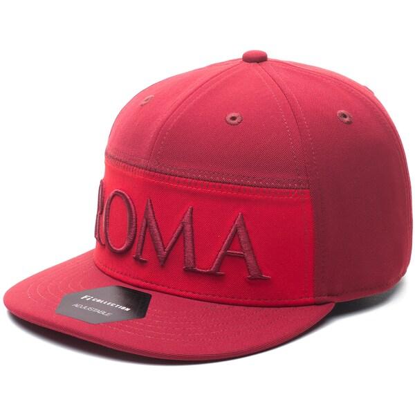 ASローマ キャップ/帽子 SOCCER Shade Snapback Adjustable Hat Fi Collection レッド