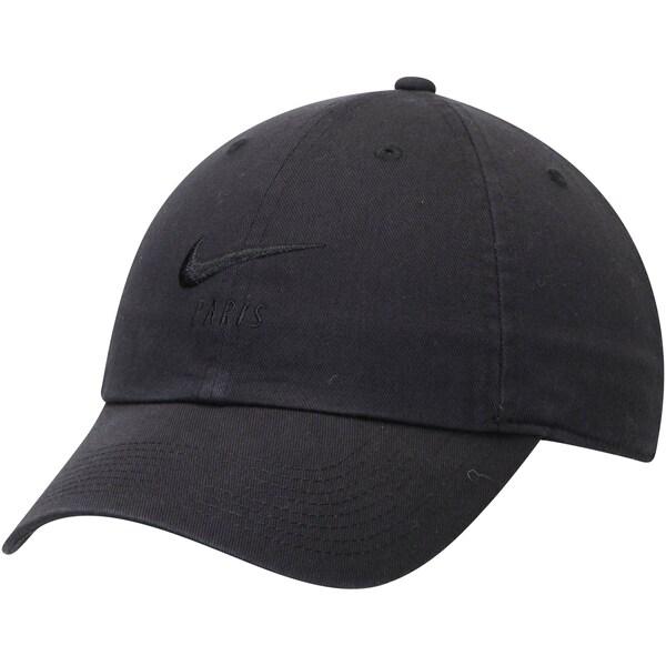 パリ・サンジェルマンFC キャップ/帽子 SOCCER Heritage 86 Adjustable Hat ナイキ/Nike ブラック