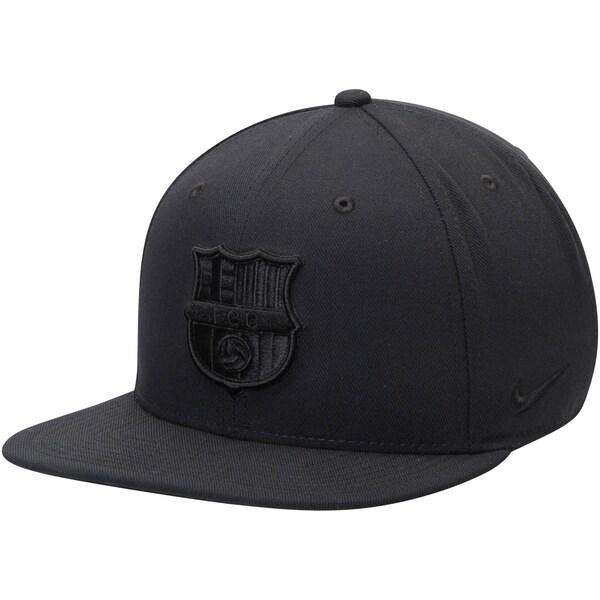 FCバルセロナ キャップ/帽子 SOCCER Pro Snapback Adjustable Hat ナイキ/Nike ブラック