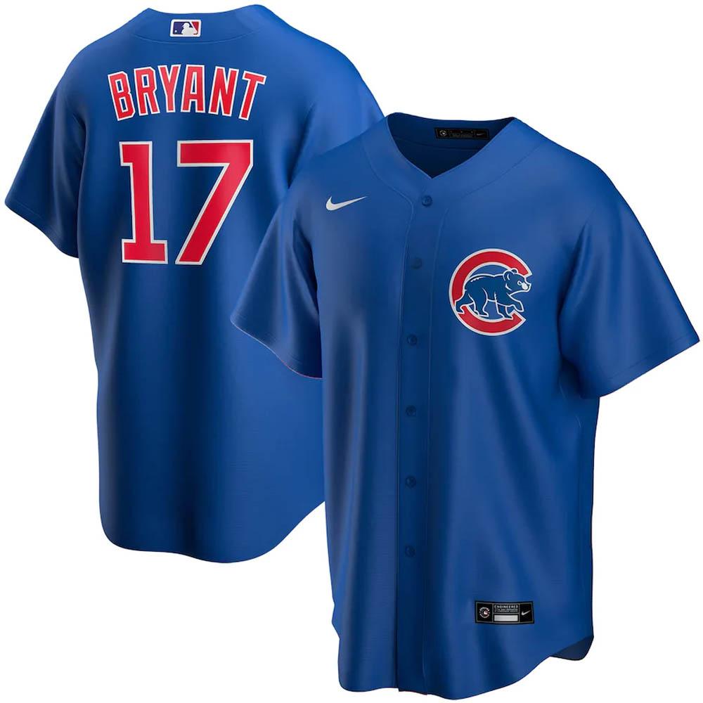 MLB クリス・ブライアント シカゴ・カブス ユニフォーム/ジャージ 2020 レプリカ プレーヤー ナイキ/Nike ロイヤル