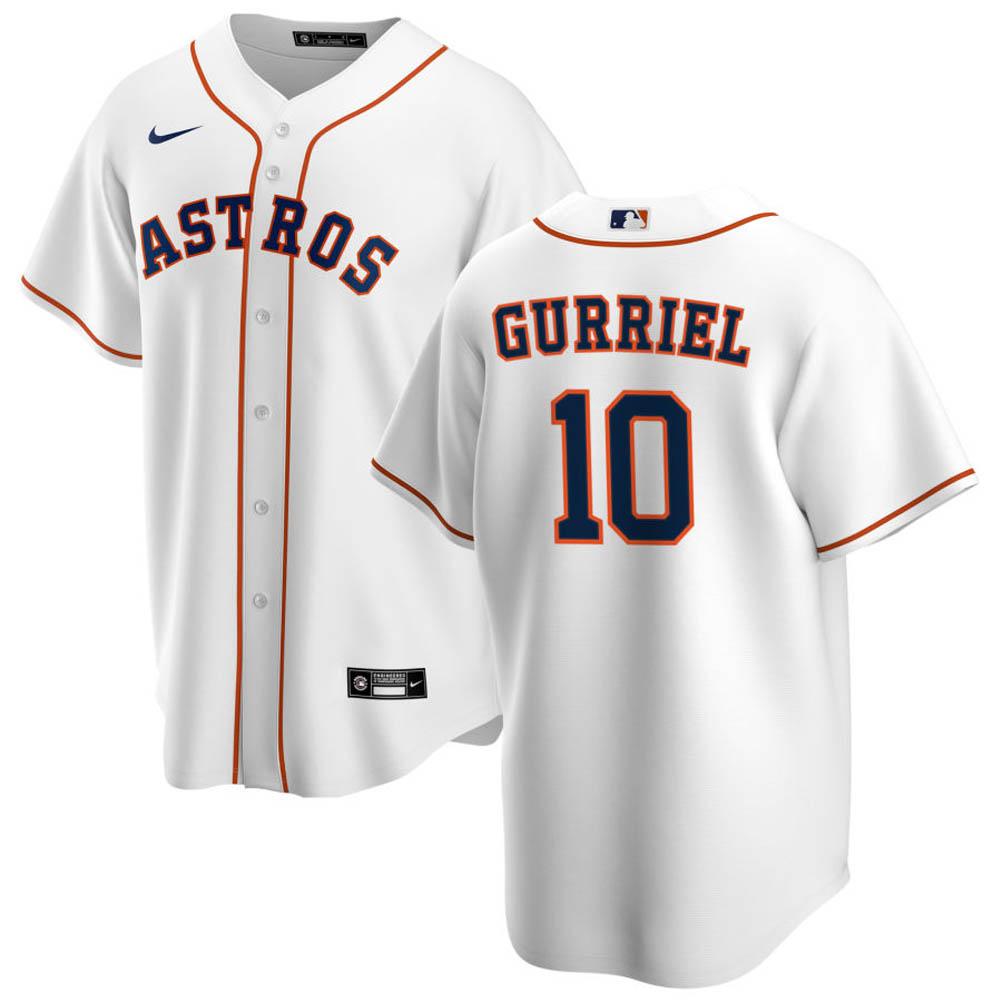 MLB ユリ・グリエル ヒューストン・アストロズ ユニフォーム/ジャージ 2020 レプリカ プレーヤー ナイキ/Nike ホワイト
