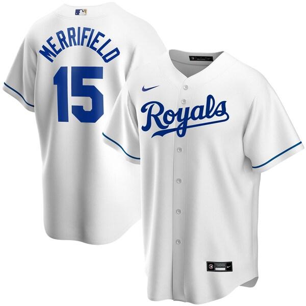 MLB ウィット・メリフィールド カンザスシティ・ロイヤルズ ユニフォーム/ジャージ 2020 レプリカ プレーヤー ナイキ/Nike ホワイト