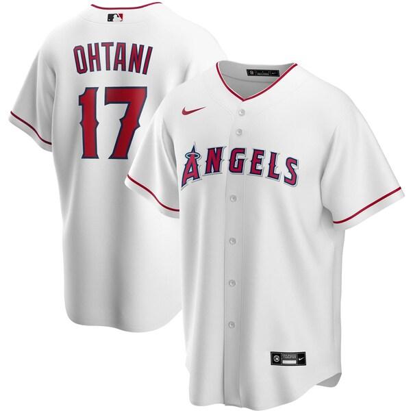 MLB 大谷翔平 ロサンゼルス・エンゼルス ユニフォーム/ジャージ 2020 レプリカ プレーヤー ナイキ/Nike ホワイト