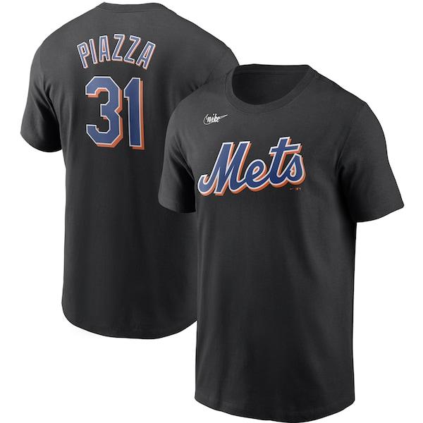 <title>あす楽対応 MLB x Nike レジェンドプレーヤー Tシャツ マイク ピアザ ニューヨーク 新着セール メッツ クーパーズタウン ネーム ナンバー ナイキ ブラック</title>