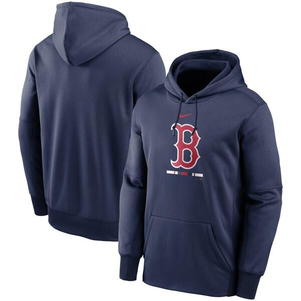 MLB ボストン・レッドソックス パーカー/フーディー レガシー サーマ パフォーマンス プルオーバー ナイキ/Nike ネイビー