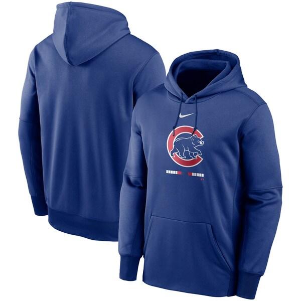 MLB シカゴ・カブス パーカー/フーディー レガシー サーマ パフォーマンス プルオーバー ナイキ/Nike ロイヤル