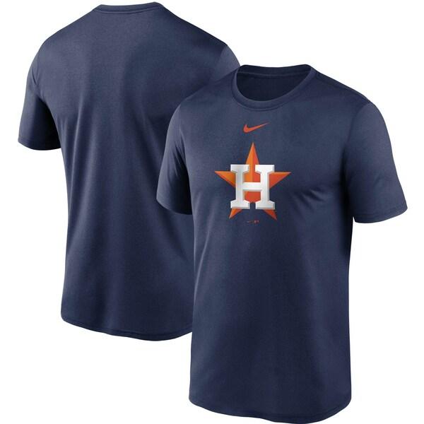 あす楽対応 MLB x Nike チームロゴTシャツ ヒューストン アストロズ Tシャツ ロゴ 送料無料お手入れ要らず ナイキ 35%OFF パフォーマンス ラージ レジェンド ネイビー