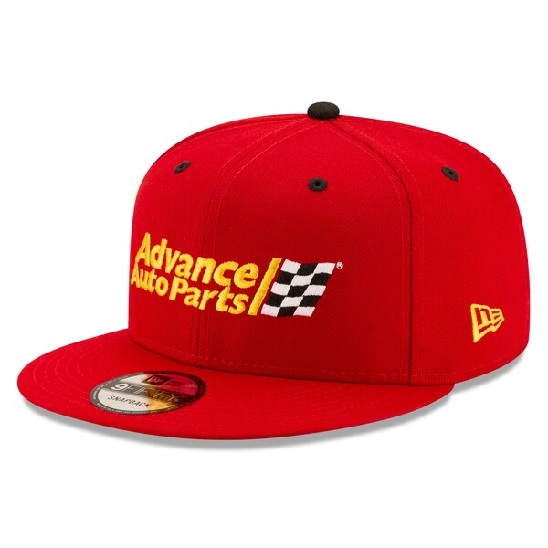 NASCAR ライアン・ブレイニー アドバンスオートパーツ キャップ/帽子 Sponsor 9FIFTY Snapback Hat ニューエラ/New Era レッド