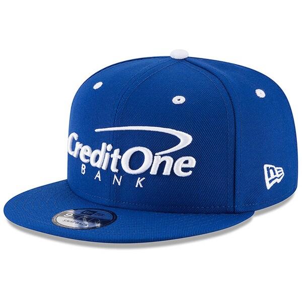 NASCAR カイル・ラーソン クレジット・ワンバンク キャップ/帽子 Sponsor 9FIFTY Snapback Hat ニューエラ/New Era ブルー