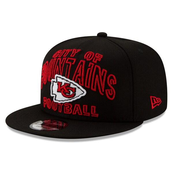 NFL チーフス キャップ/帽子 2020 NFL ドラフト シティ 9FIFTY アジャスタブル ニューエラ/New Era ブラック