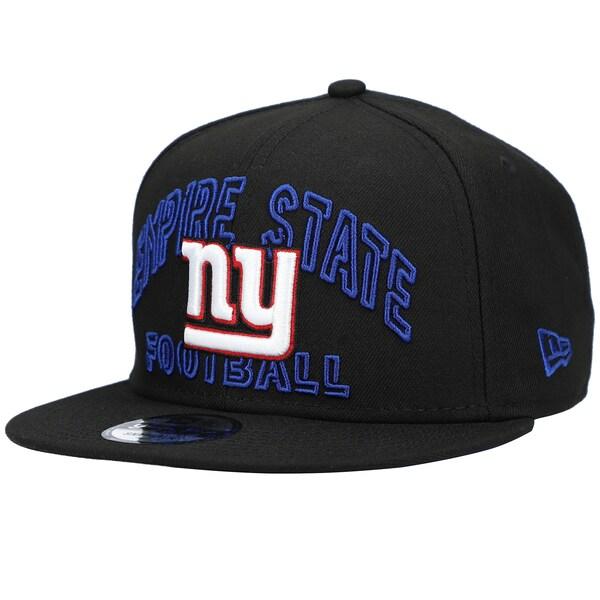 NFL ジャイアンツ キャップ/帽子 2020 NFL ドラフト シティ 9FIFTY アジャスタブル ニューエラ/New Era ブラック