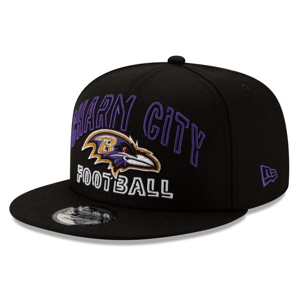 NFL レイブンズ キャップ/帽子 2020 NFL ドラフト シティ 9FIFTY アジャスタブル ニューエラ/New Era ブラック