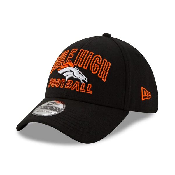 NFL ブロンコス キャップ/帽子 2020 NFL ドラフト シティ 39THIRTY ニューエラ/New Era ブラック