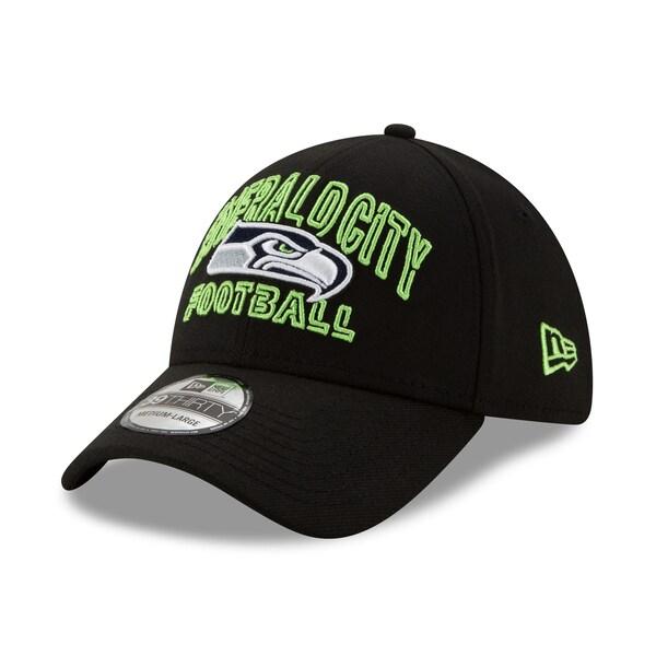 NFL シーホークス キャップ/帽子 2020 NFL ドラフト シティ 39THIRTY ニューエラ/New Era ブラック