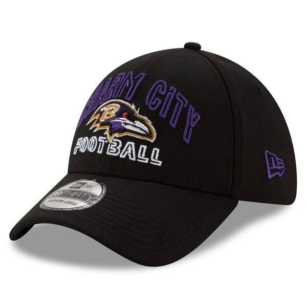 NFL レイブンズ キャップ/帽子 2020 NFL ドラフト シティ 39THIRTY ニューエラ/New Era ブラック