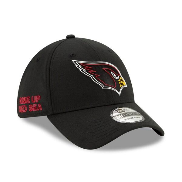 NFL カーディナルス キャップ/帽子 2020 NFL ドラフト オフィシャル 39THIRTY ニューエラ/New Era ブラック