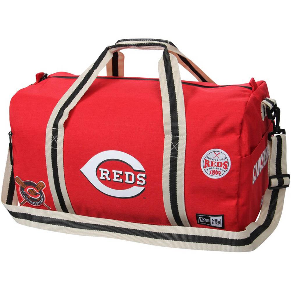 秋山翔吾 選手所属 MLB レッズ Heritage Patch Duffle Bag ニューエラ/New Era レッド