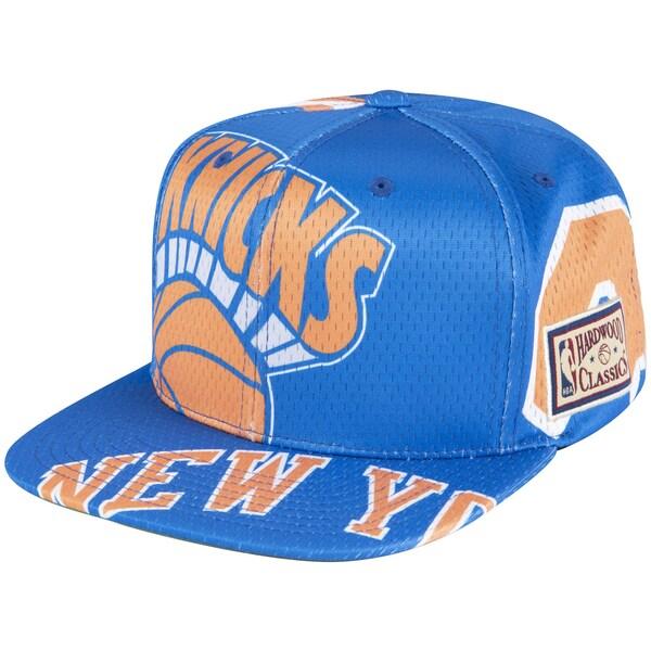 NBA ニューヨーク・ニックス キャップ/帽子 ティアー アップ アジャスタブル ミッチェル&ネス/Mitchell & Ness ロイヤル