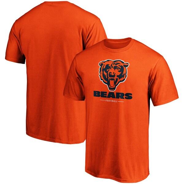 NFL ベアーズ Tシャツ チーム ロックアップ ロゴ オレンジ