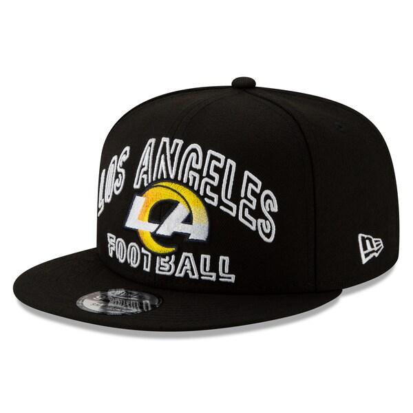 NFL ラムズ キャップ/帽子 2020 NFL ドラフト シティ 9FIFTY アジャスタブル ニューエラ/New Era ブラック