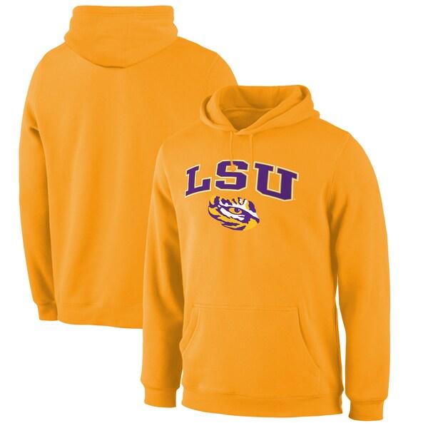 NCAA ルイジアナ州立大学 タイガース パーカー/フーディー キャンパス プルオーバー ゴールド