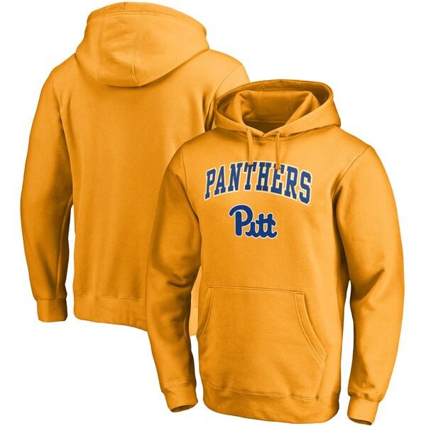 NCAA ピッツバーグ大学 パンサーズ パーカー/フーディー キャンパス プルオーバー ゴールド