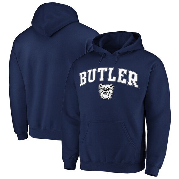 NCAA バトラー大学 ブルドッグス パーカー/フーディー キャンパス プルオーバー ネイビー