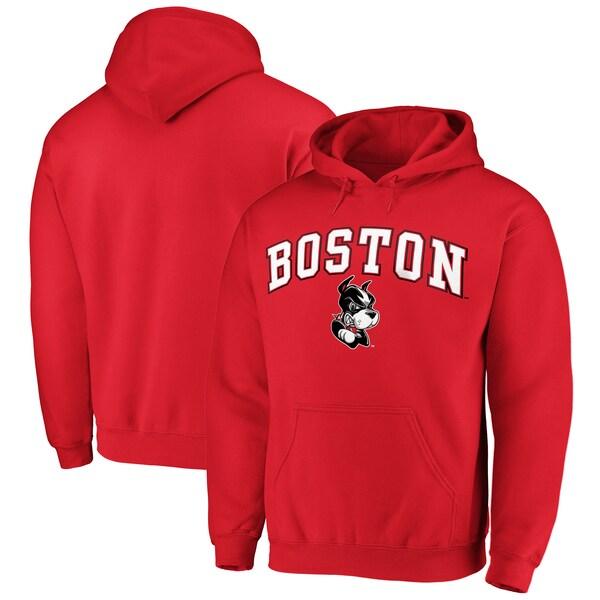 NCAA ボストン大学テリアーズ パーカー/フーディー キャンパス プルオーバー レッド