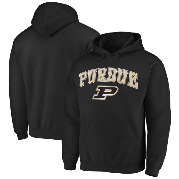 NCAA パデュー大学 ボイラーメーカーズ パーカー/フーディー キャンパス プルオーバー ブラック