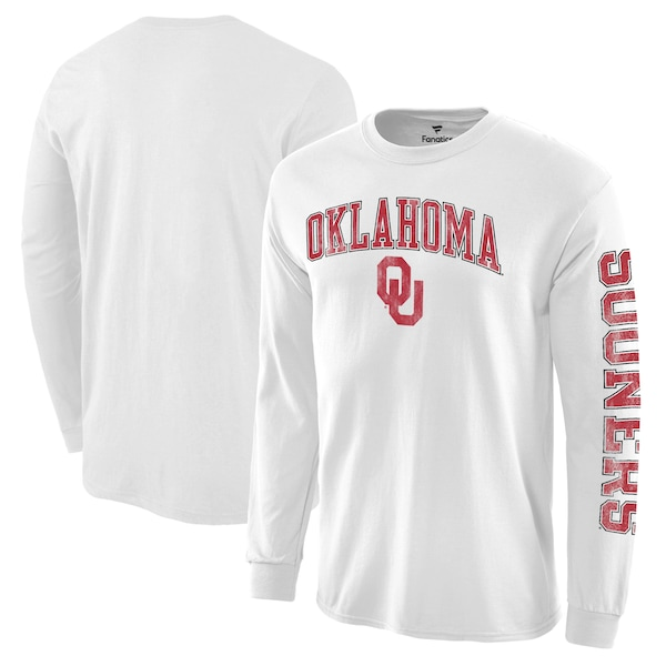 <title>プロ並みの人気を誇る NCAAアーチオーバーロゴロングTEE NCAA オクラホマ大学 スーナーズ Tシャツ ディストレスト アーチ オーバー ロゴ 待望 ロングスリーブ ホワイト</title>