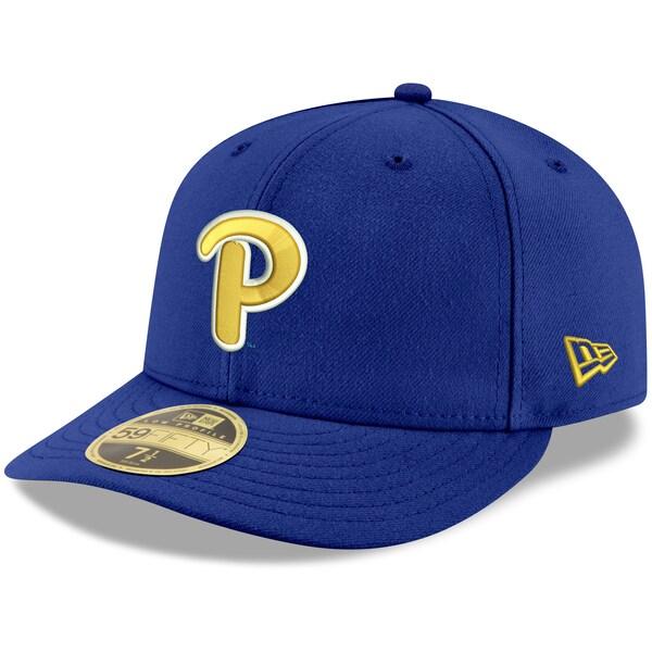 NCAA ピッツバーグ大学 パンサーズ キャップ/帽子 ベーシック ロープロファイル 59FIFTY ニューエラ/New Era ロイヤル