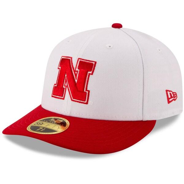 NCAA ネブラスカ大学 コーンハスカーズ キャップ/帽子 ベーシック ロープロファイル 59FIFTY ニューエラ/New Era