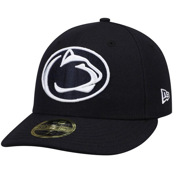 NCAA ペンシルバニア州立 ニッタニーライオンズ キャップ/帽子 ベーシック ロープロファイル 59FIFTY ニューエラ/New Era ネイビー