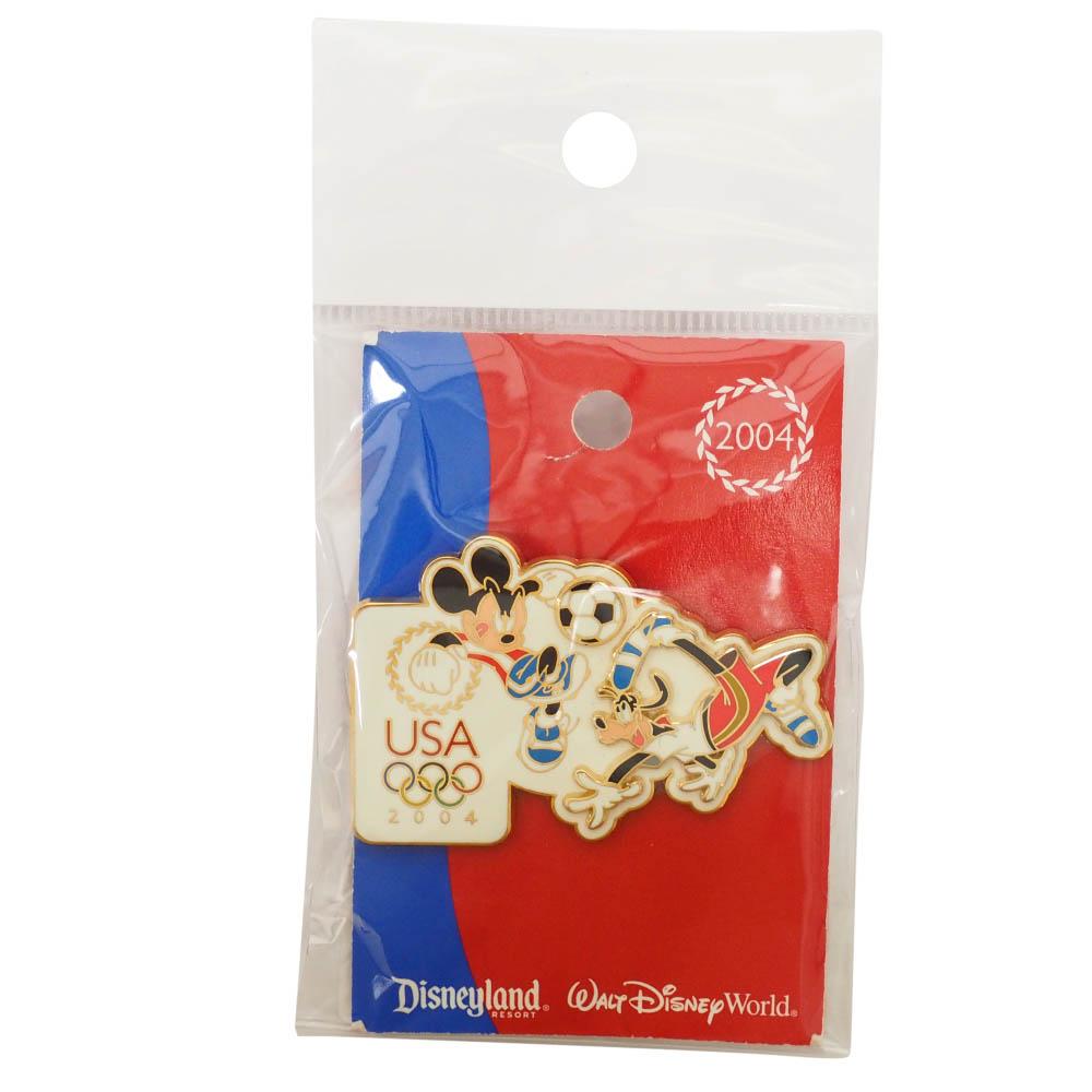 アメリカ代表 ディズニー 2004 アテネ USA Decathlon Sereis Pin : Soccer LE1000 ピンバッチ ピンズ Disney