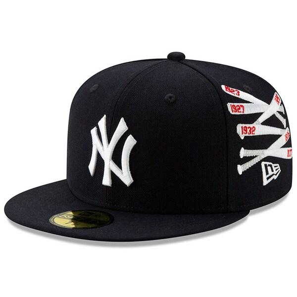 MLB ニューヨーク・ヤンキース キャップ/帽子 スパイク・リー チャンピオン コレクション 59FIFTY ニューエラ/New Era ネイビー