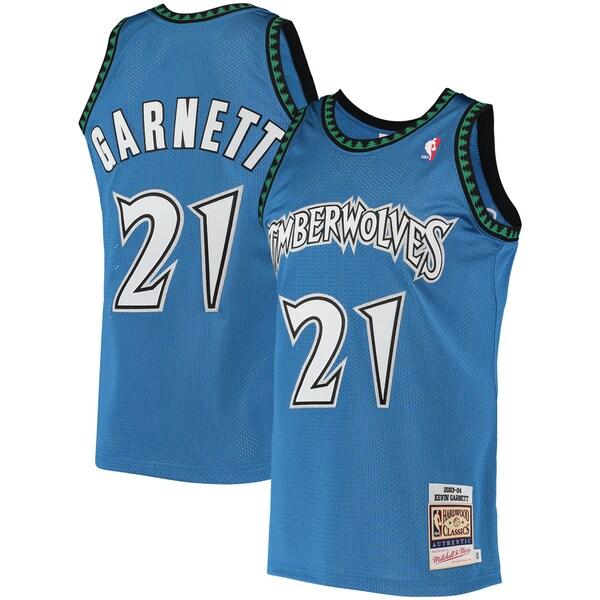 NBA ケビン・ガーネット ティンバーウルブズ ユニフォーム/ジャージ 2003/04 ハードウッドクラシックス ミッチェル&ネス