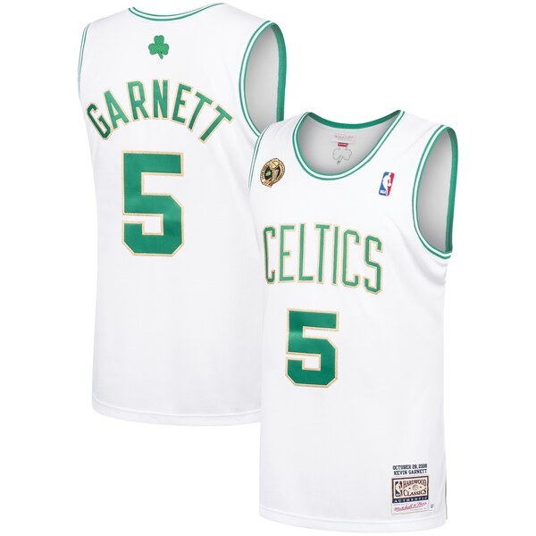 NBA ケビン・ガーネット セルティックス ユニフォーム/ジャージ 2008-09 ハードウッドクラシックス オーセンティック ミッチェル&ネス