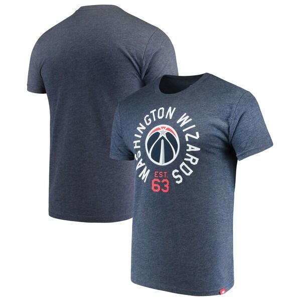 八村塁選手所属 ウィザーズ NBA Tシャツ Comfy Super Soft Tri-Blend T-Shirt Sportiqe ネイビー