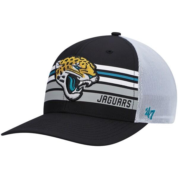 NFL ジャガーズ キャップ/帽子 アルティテュード MVP スナップバック アジャスタブル 47 Brand ブラック