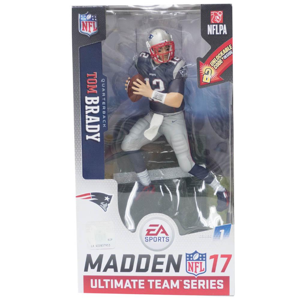 NFL トム・ブレイディ ペイトリオッツ フィギュア EA Sports 17 Ultimat Team Series 1 フィギュア マクファーレン/McFarlane ホーム