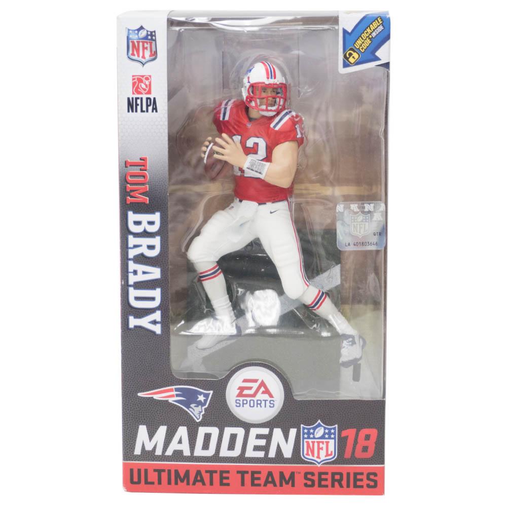 NFL トム・ブレイディ ペイトリオッツ フィギュア EA Sports 17 Ultimat Team Series 1 フィギュア マクファーレン/McFarlane