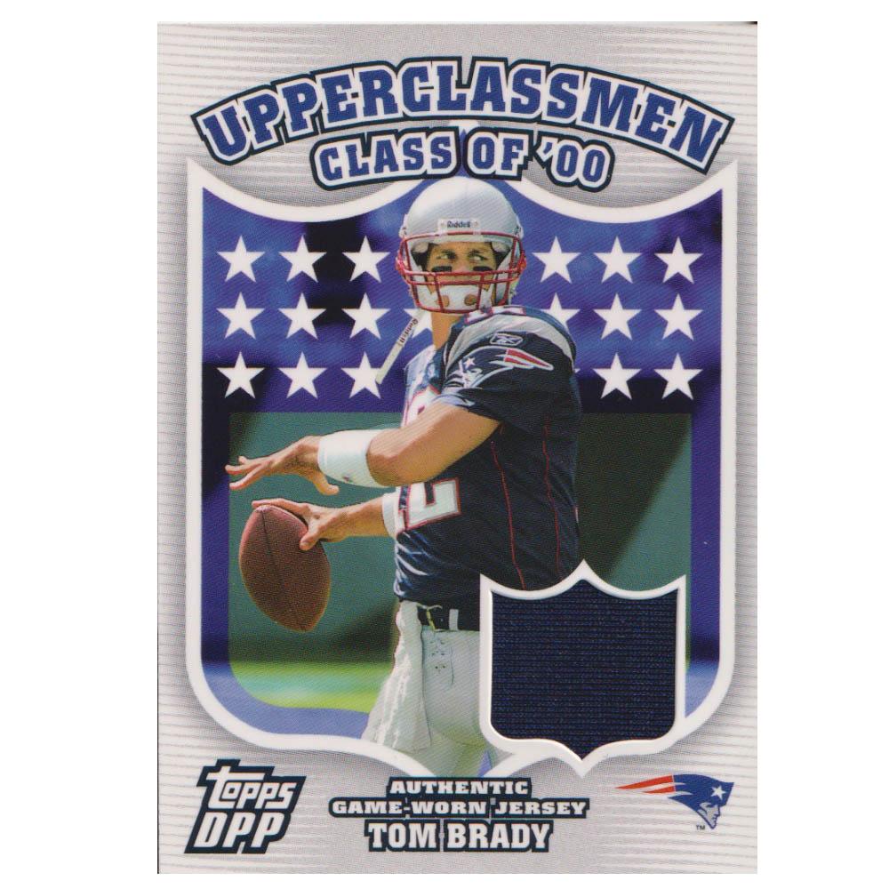 NFL トム・ブレイディ ペイトリオッツ トレーディングカード/スポーツカード 【1点物】2006 ジャージ カード Topps