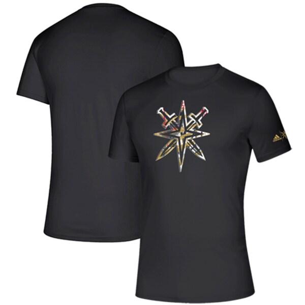 NHL ゴールデンナイツ Tシャツ Creator climalite T-Shirt アディダス/Adidas ブラック