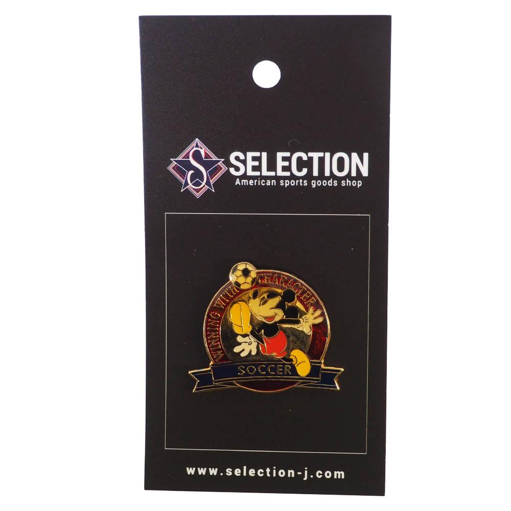 ミッキー USA ディズニー1996 アトランタ Winning with Character Pin : Soccer ピンズ ピンバッチ