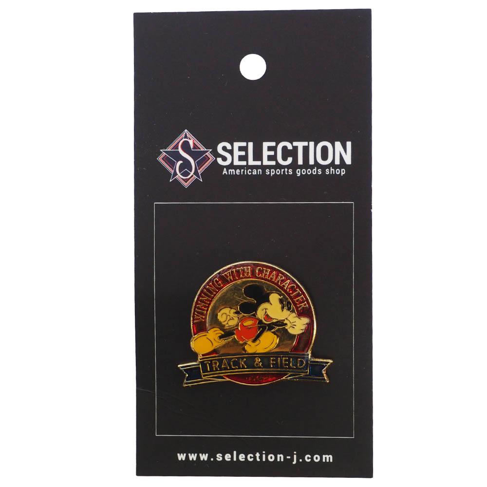 ミッキー USA ディズニー1996 アトランタ Winning with Character Pin : Track & Field ピンズ ピンバッチ