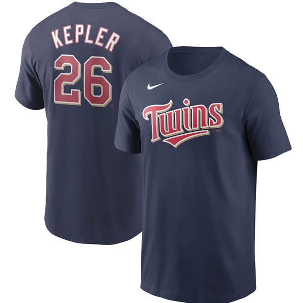 <title>あす楽対応 MLB x Nike AL完売しました。 ネームナンバー Tシャツ マックス ケプラー ミネソタ ツインズ ネーム ナンバー ナイキ ネイビー</title>
