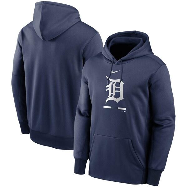 MLB デトロイト・タイガース パーカー/フーディー レガシー パフォーマンス ナイキ/Nike ネイビー