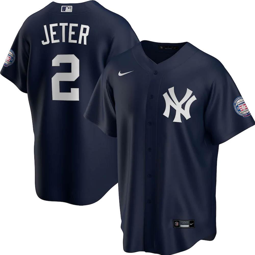 MLB デレク・ジーター ニューヨーク・ヤンキース ユニフォーム/ジャージ 2020 殿堂入り レプリカ ナイキ/Nike ネイビー