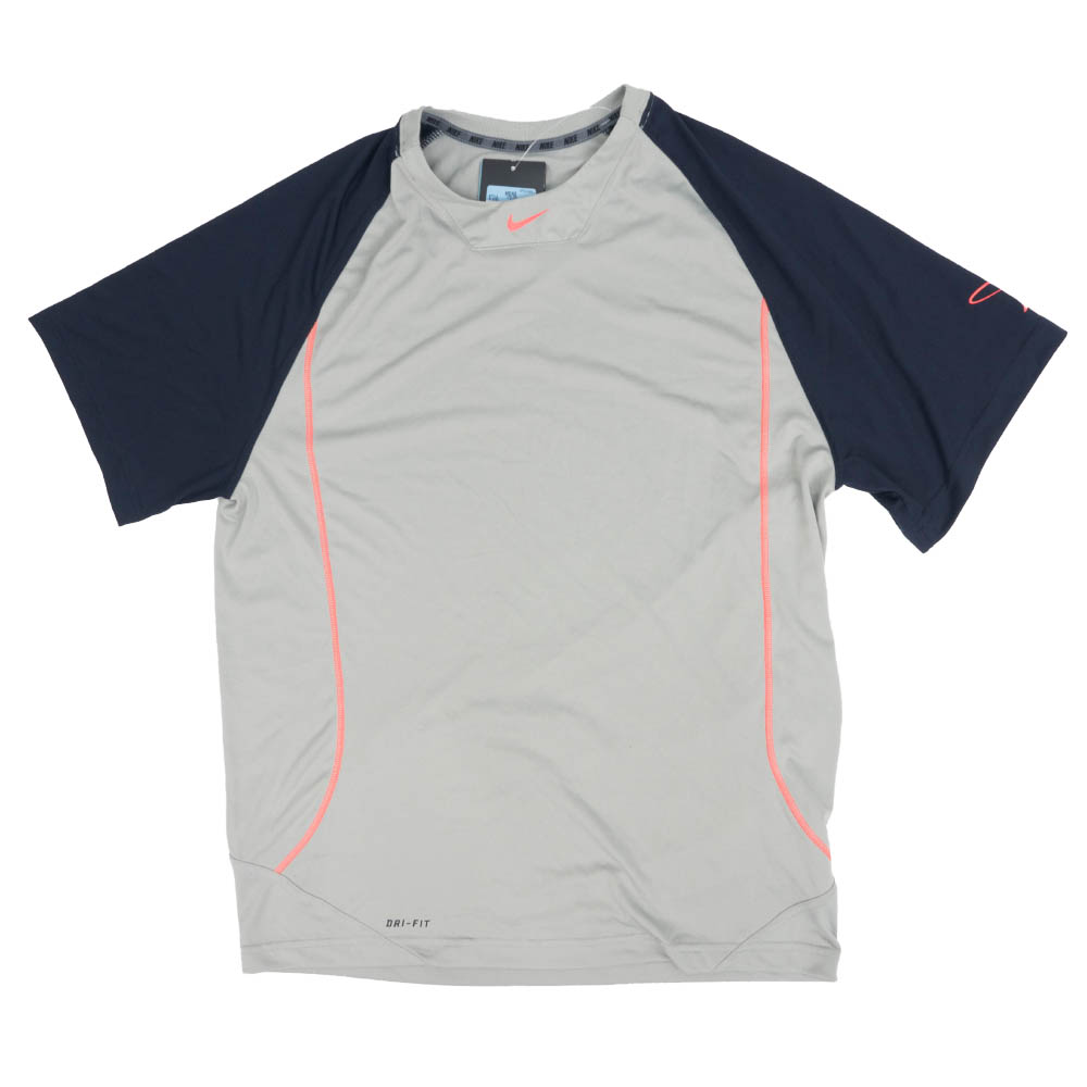 Nike GRIFFEY ケン・グリフィー・ジュニア Tシャツ スイングマン S/S トレーニング グレー/ブラック 512550-082【トレーニング特集】
