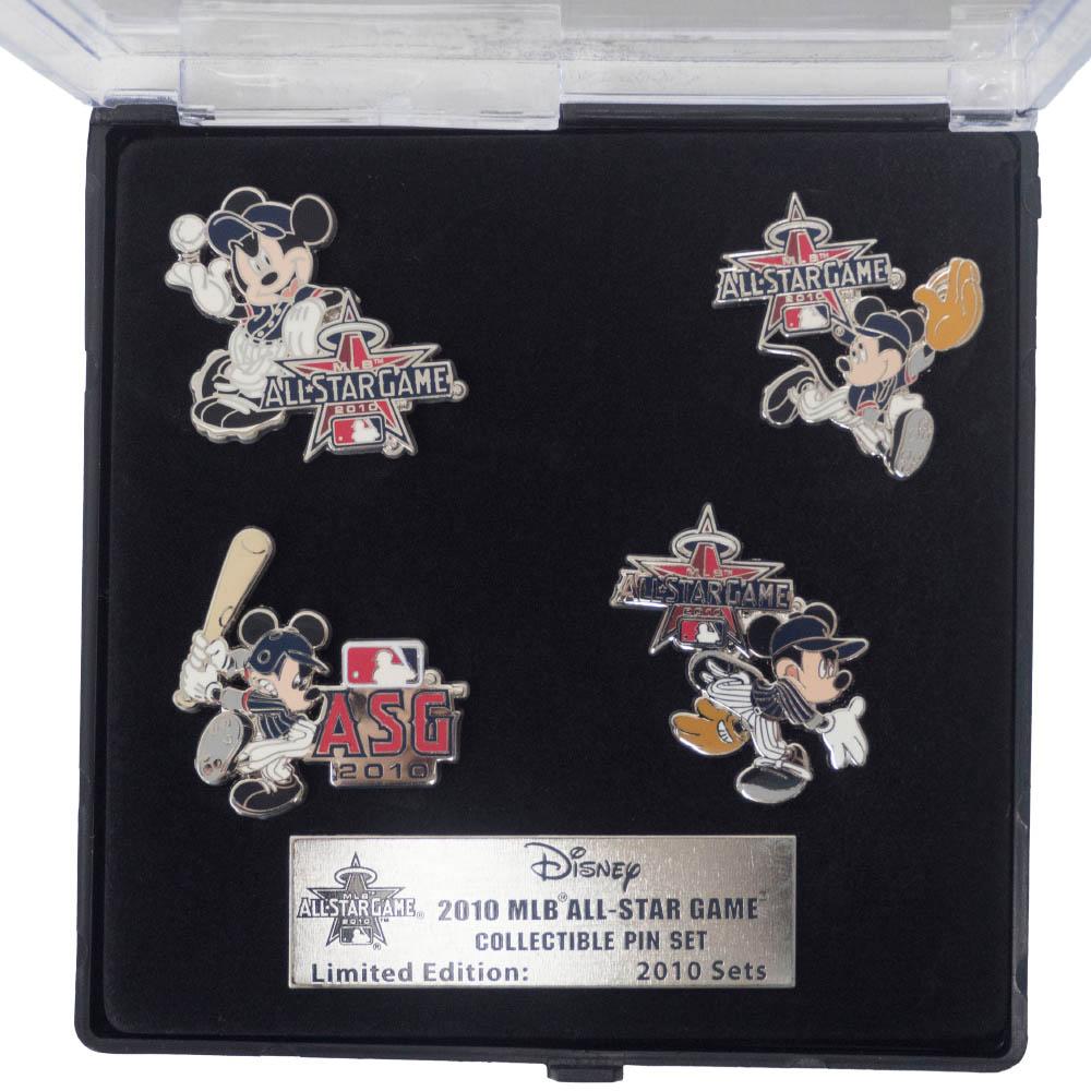 MLB 2010 All-Star Game Collectible Pin Set Disney